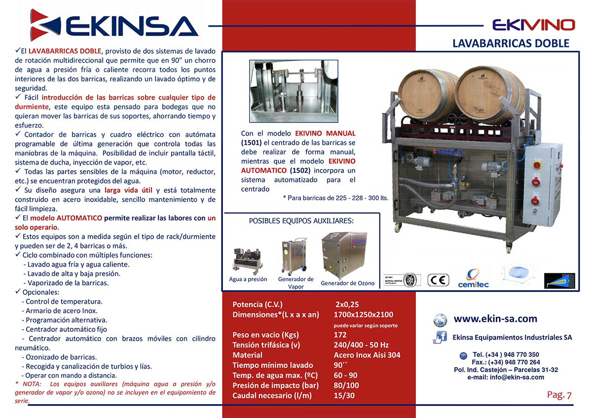 DOUBLE-BARREL-WASHER---EKINSA-INFORMATION