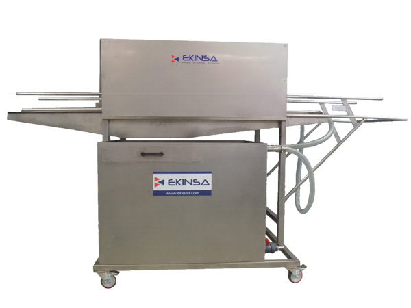 Máquina para Lavado de Cajas